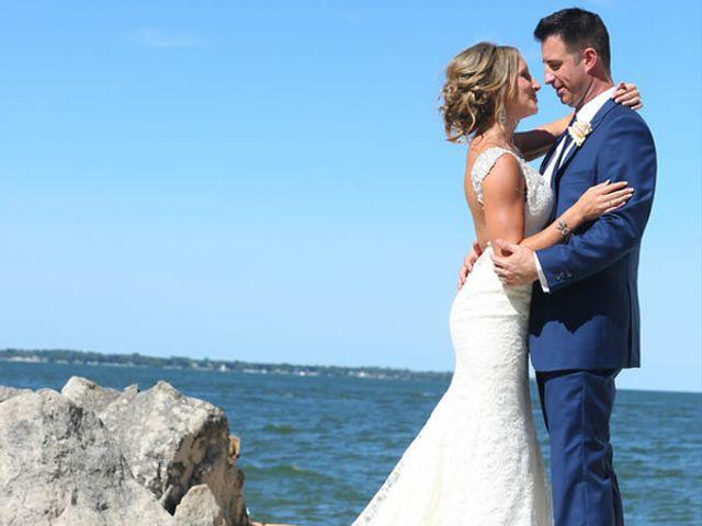 The wedding of Chad and Lisa