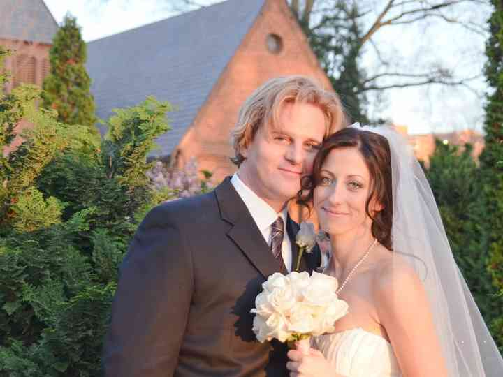 The wedding of Lilia and James