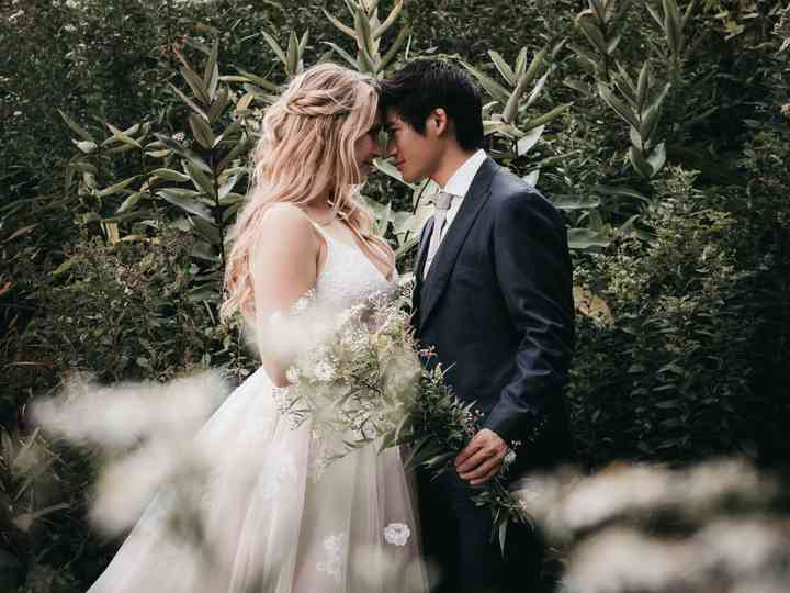 The wedding of Kristen and Kai