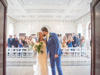 The wedding of Daniel and Leeanne Shirley