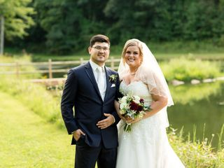 The wedding of Kaylyn and Christopher