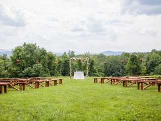 Nicole and Lisa's Wedding in Sanbornton, New Hampshire 3