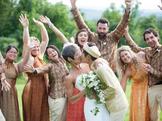 Nicole and Lisa's Wedding in Sanbornton, New Hampshire 13
