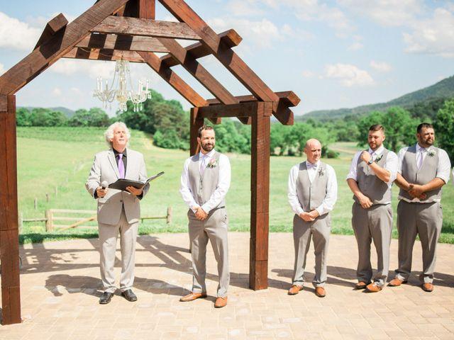 Casey and Alan's Wedding in Blue Ridge, Virginia 20