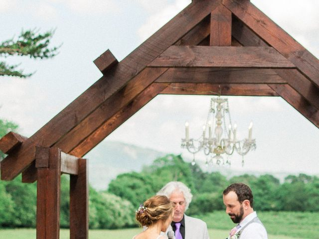 Casey and Alan's Wedding in Blue Ridge, Virginia 22