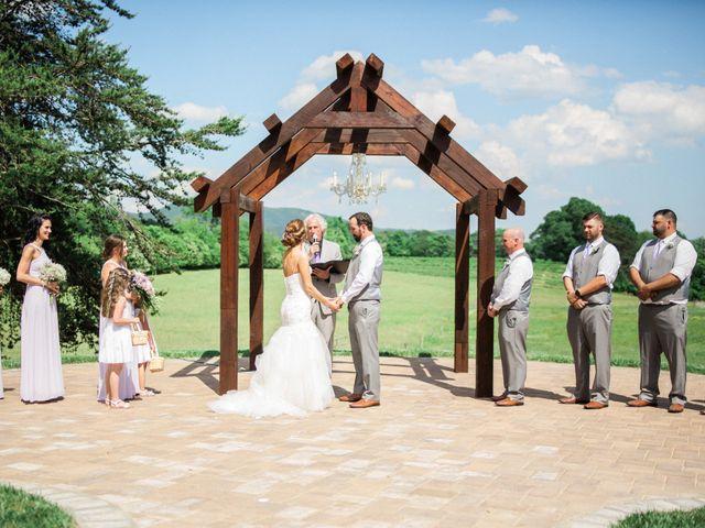 Casey and Alan's Wedding in Blue Ridge, Virginia 23