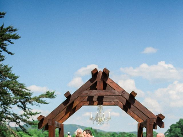Casey and Alan's Wedding in Blue Ridge, Virginia 24