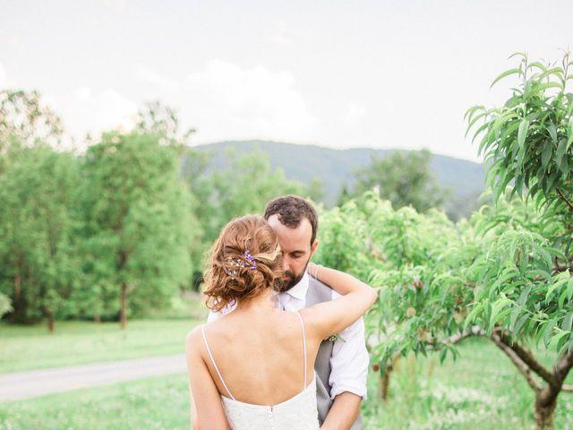 Casey and Alan's Wedding in Blue Ridge, Virginia 29