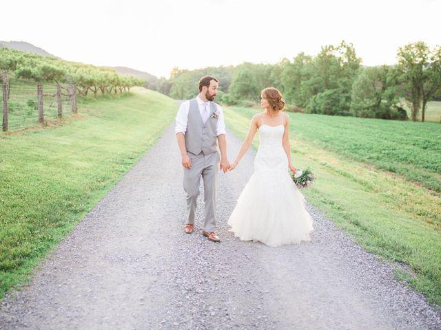 Casey and Alan's Wedding in Blue Ridge, Virginia 30