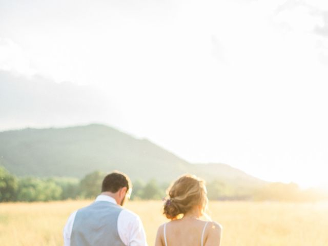 Casey and Alan's Wedding in Blue Ridge, Virginia 33