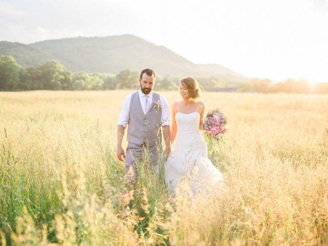 Casey and Alan's Wedding in Blue Ridge, Virginia 35