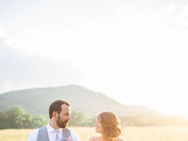 Casey and Alan's Wedding in Blue Ridge, Virginia 36