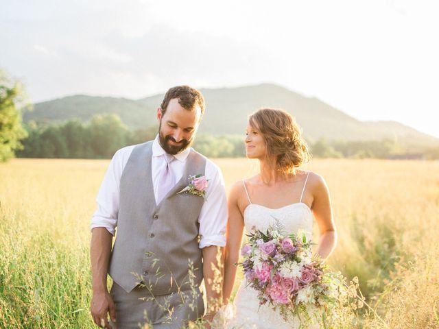 Casey and Alan's Wedding in Blue Ridge, Virginia 37