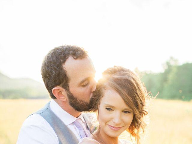 Casey and Alan's Wedding in Blue Ridge, Virginia 39