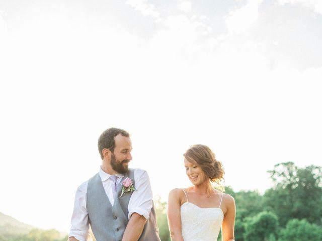 Casey and Alan's Wedding in Blue Ridge, Virginia 41