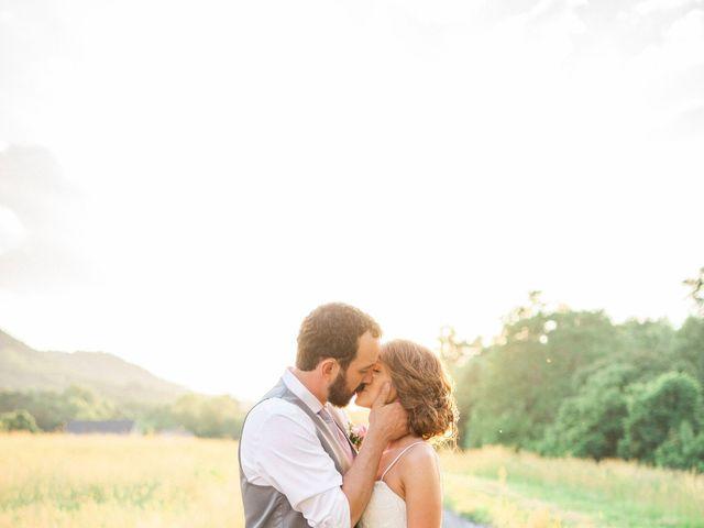 Casey and Alan's Wedding in Blue Ridge, Virginia 43