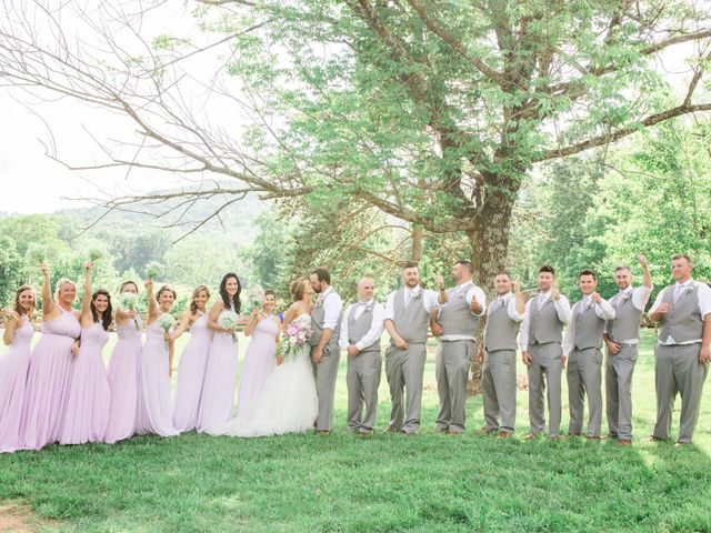 Casey and Alan's Wedding in Blue Ridge, Virginia 45