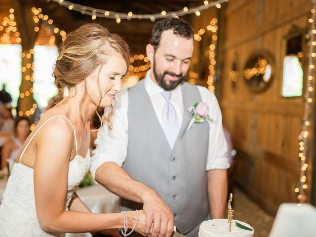 Casey and Alan's Wedding in Blue Ridge, Virginia 51