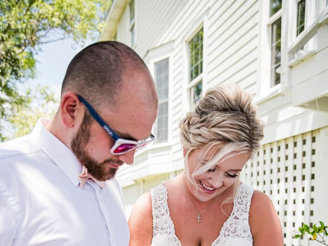 Noland and Sarah's Wedding in Southport, North Carolina 4