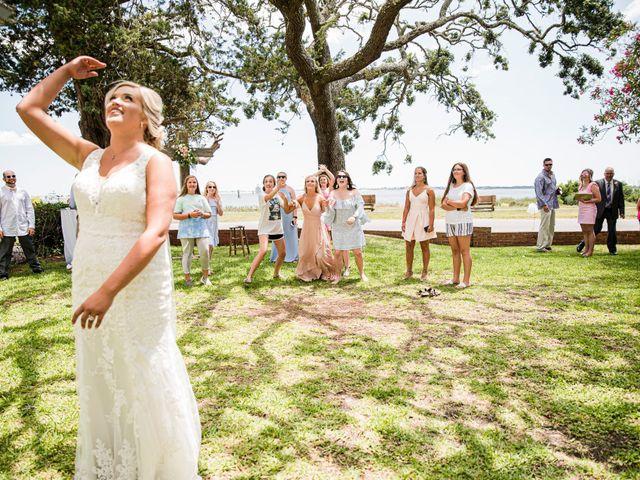 Noland and Sarah's Wedding in Southport, North Carolina 8