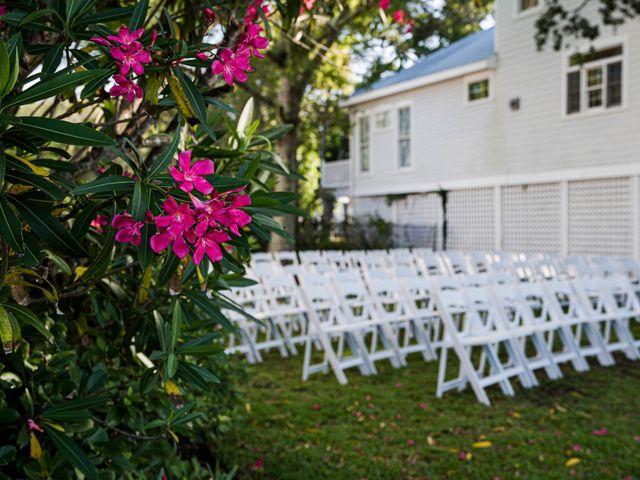 Noland and Sarah's Wedding in Southport, North Carolina 10