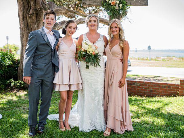 Noland and Sarah's Wedding in Southport, North Carolina 12