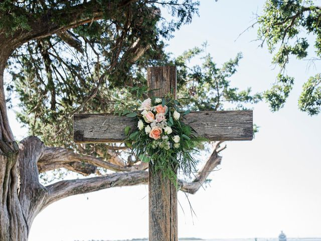 Noland and Sarah's Wedding in Southport, North Carolina 16