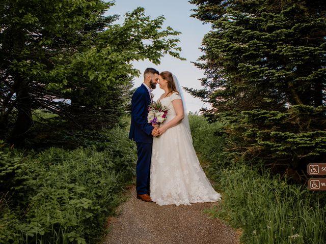 The wedding of Stephanie and Daniel