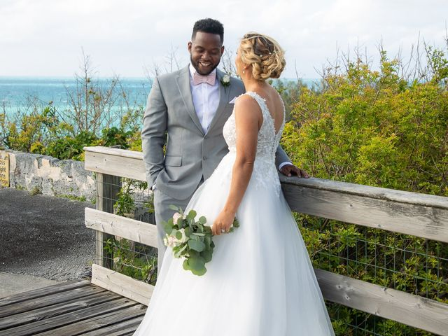 Carlos and Renee's Wedding in Hamilton, Bermuda 11