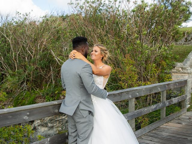 Carlos and Renee's Wedding in Hamilton, Bermuda 12