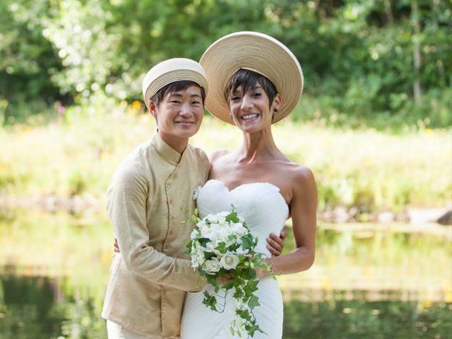 The wedding of Lisa and Nicole
