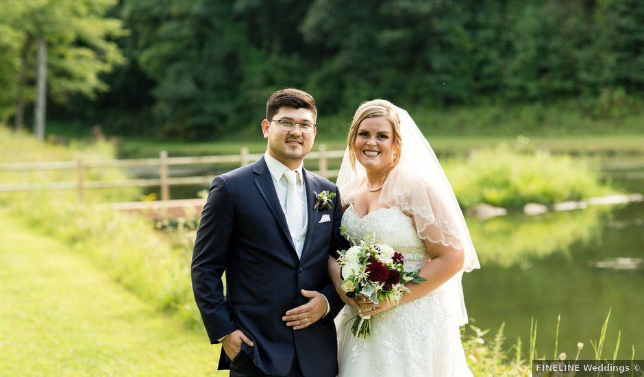 Christopher and Kaylyn's Wedding in Ligonier, Pennsylvania