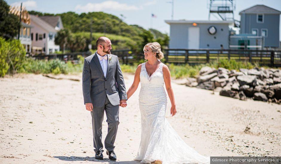 Noland and Sarah's Wedding in Southport, North Carolina