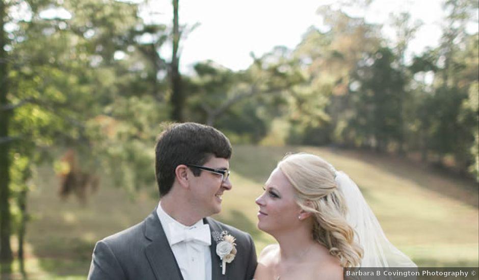 Sara and Josh's wedding in Georgia