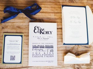 The wedding of Kory and Elise 2