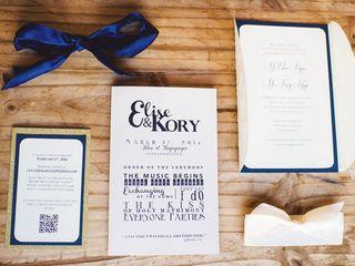 The wedding of Kory and Elise 2