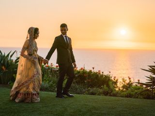 The wedding of Abib and Anum