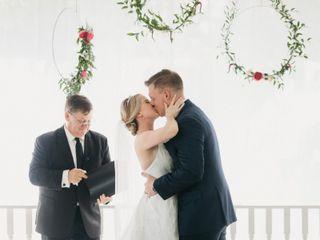 The wedding of Caroline and Jason 1