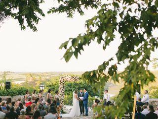 The wedding of Carolyn and Anush