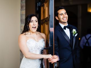 The wedding of Kristin and Memo 1