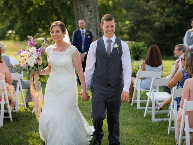 The wedding of Lindsey and Brad