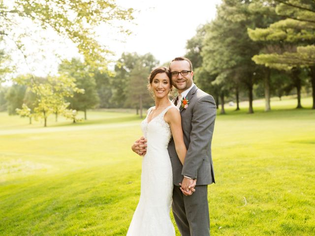 The wedding of Katie and Nicholas