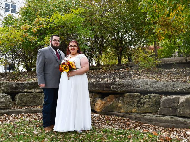 The wedding of Jessica and Thomas