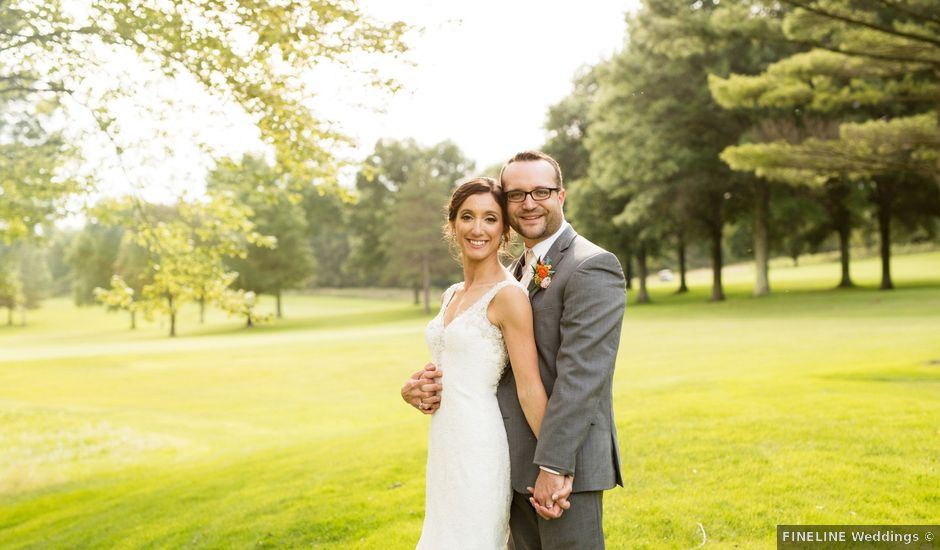 Nicholas and Katie's Wedding in Export, Pennsylvania