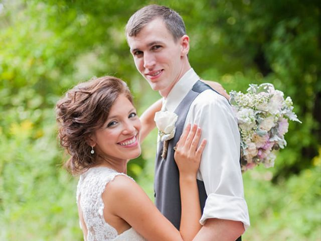 The wedding of Mike and Tori