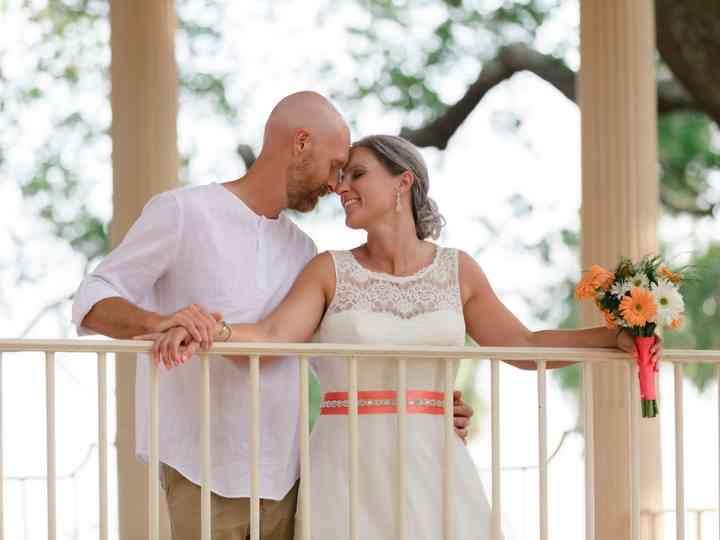 The wedding of Lindsey and Josh