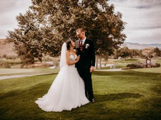 The wedding of Zoe and Matt