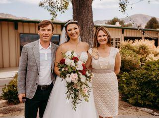 The wedding of Zoe and Matt 2