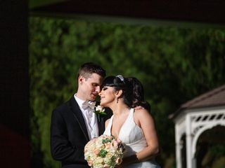 The wedding of Agnes and Jason