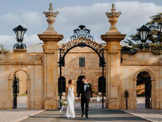 The wedding of Lauren and Lou